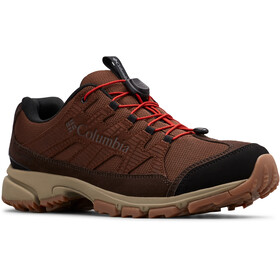 Columbia Five Forks WP Zapatillas Hombre, tobacco/flame